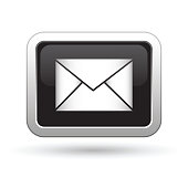 E mail icon on the button