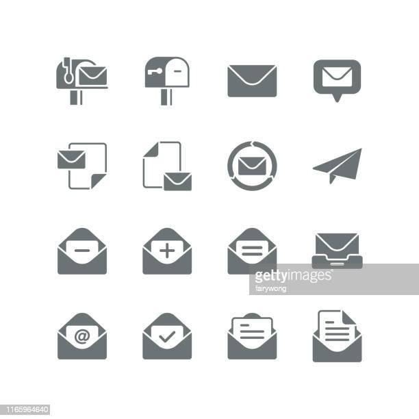 メールアイコン - send点のイラスト素材/クリップアート素材/マンガ素材/アイコン素材