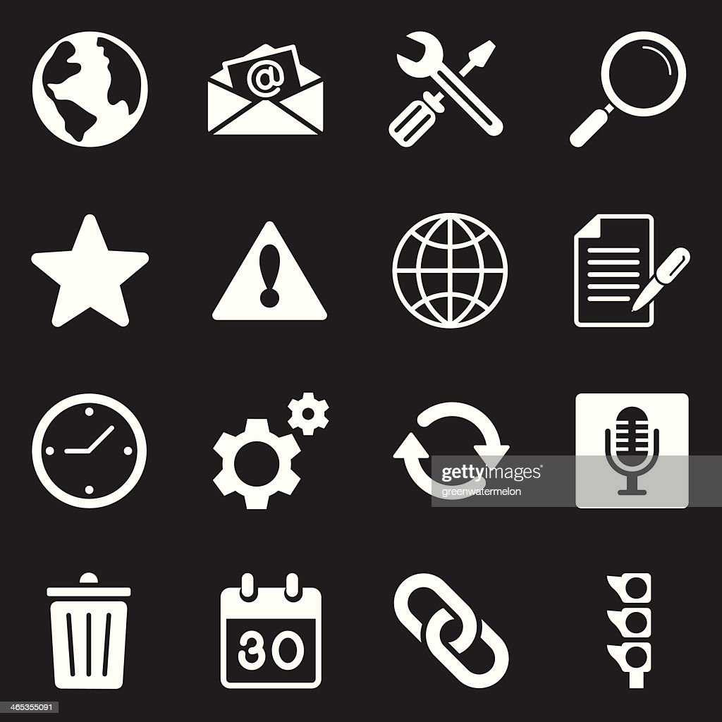Mail Icons | White Series