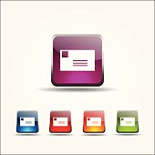 Mail Sign Colorful Vector Icon Design