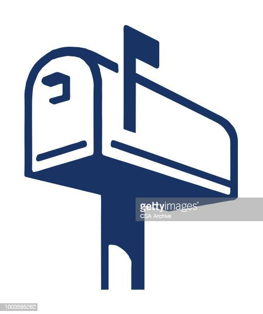 mailbox - mailbox stock illustrations