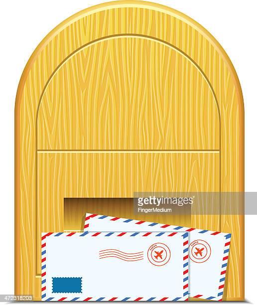 Briefkasten mit mail