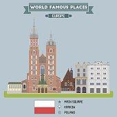 Main Square. Krakow, Poland