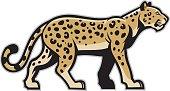 majestic leopard mascot