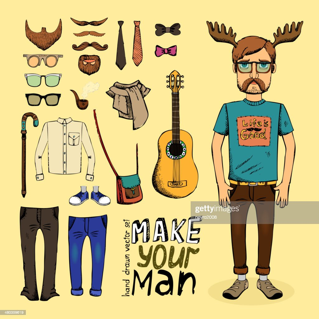 make hipster set
