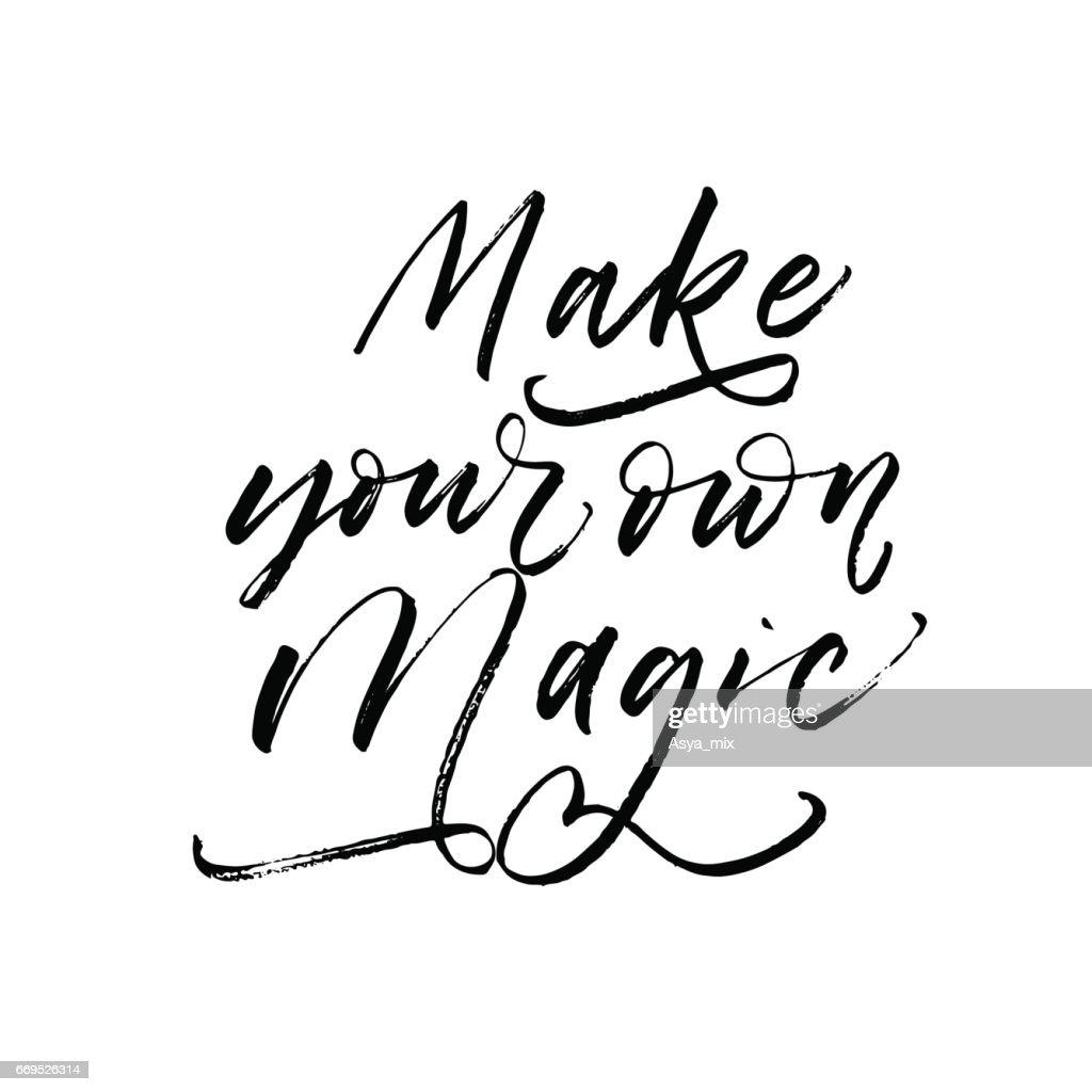 Make your own magic postcard.