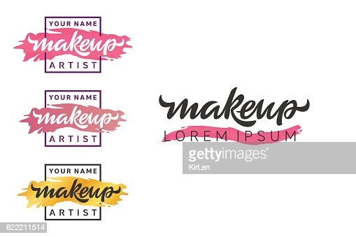 Makeup Artist Logo Vector Art