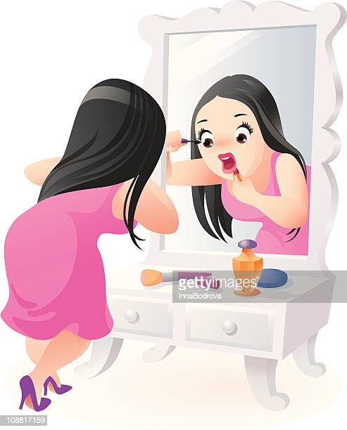 Make-up in a hurry