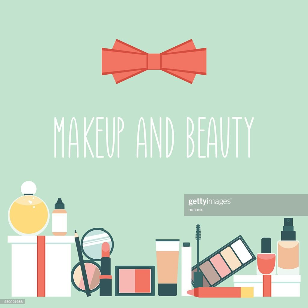 Makeup items card