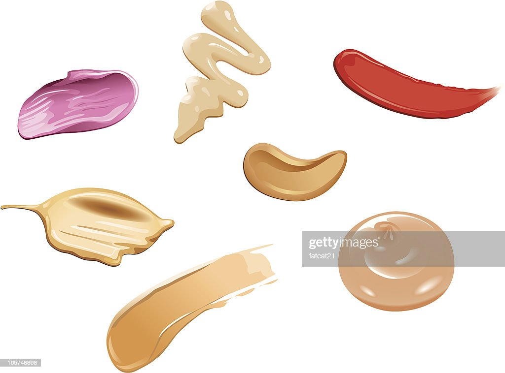 makeup smears swatches