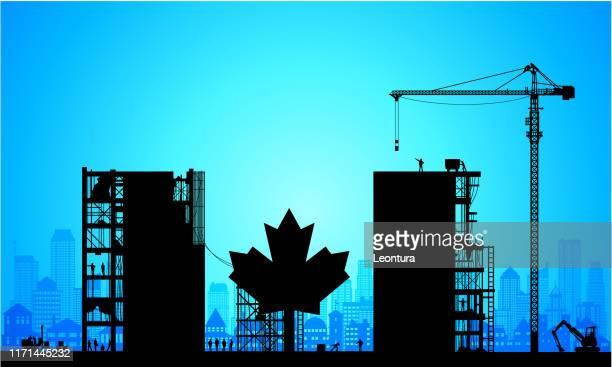 making a new canada - canadian politics stock illustrations
