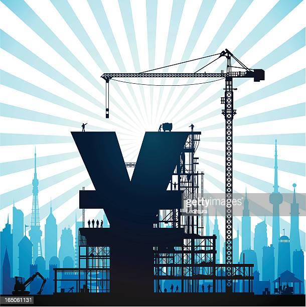 A Blue Yen ou Yuan na Cidade