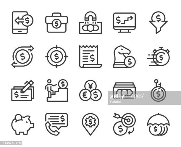 Making Money - Line Icons
