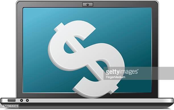 making money - cash flow stock illustrations, clip art, cartoons, & icons