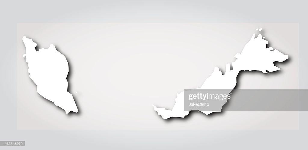Malaysia Silhouette White