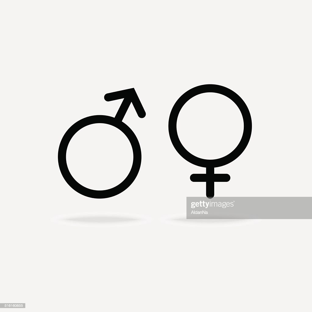 Male And Female Icon Vector Art Getty Images
