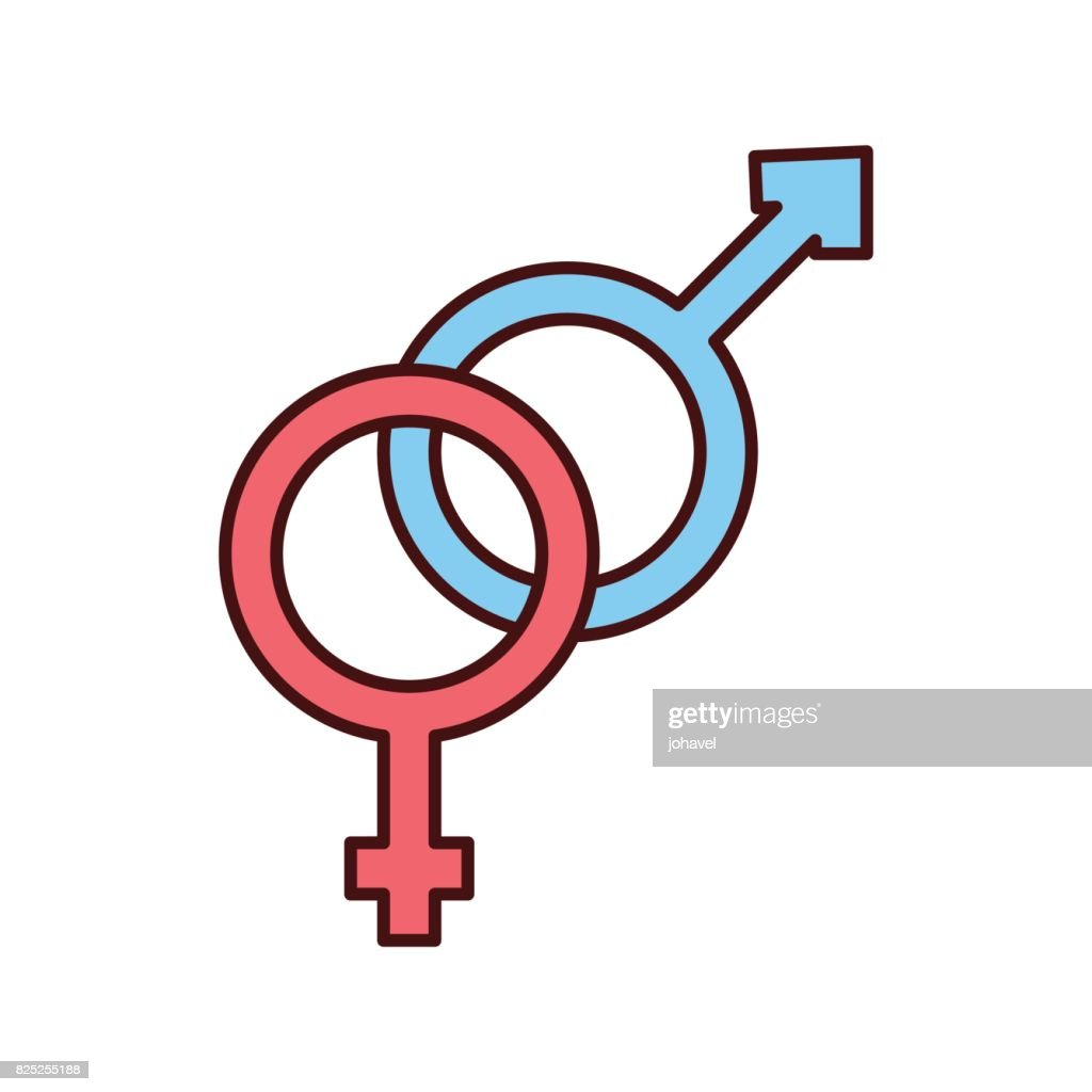 Male And Female Symbol Vector Art Getty Images