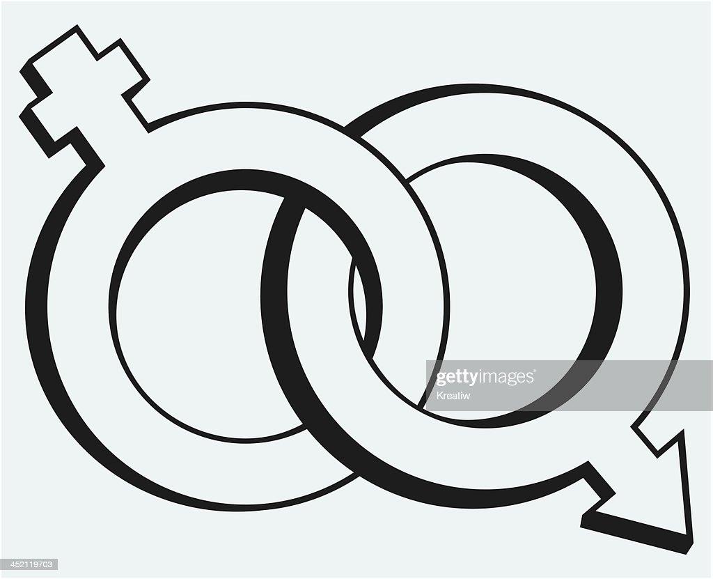 Male and female symbols vector art getty images male and female symbols vector art buycottarizona
