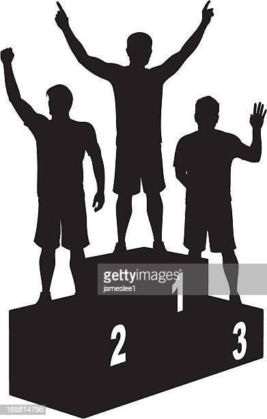 Male Athletics Podium Winners