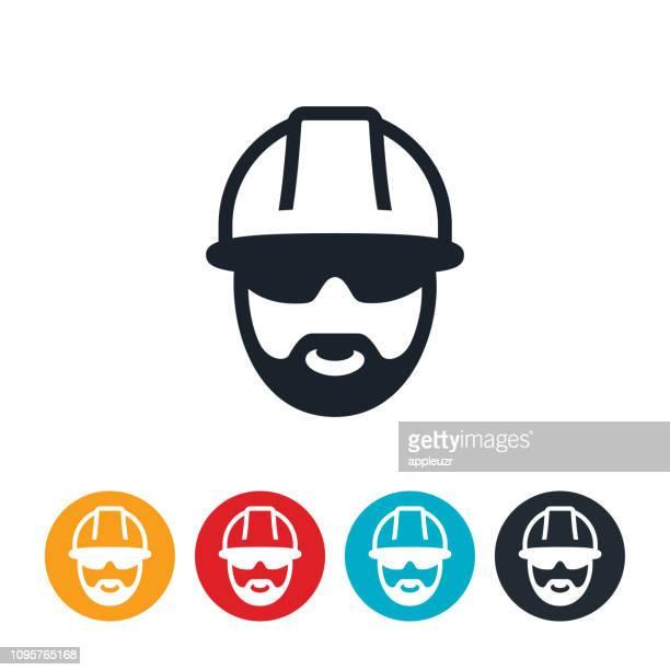 Male Construction Worker Icon