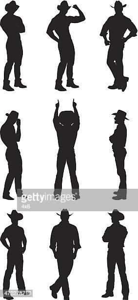 Male cowboy stud posing