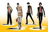 Male fashion group