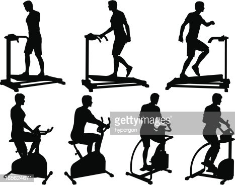 male fitness silhouette collection vector art getty images. Black Bedroom Furniture Sets. Home Design Ideas