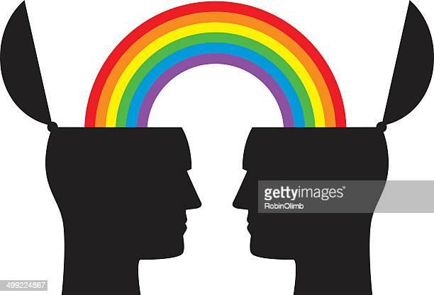 Male Rainbow Heads
