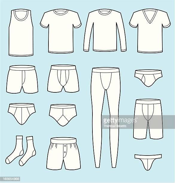 ilustraciones, imágenes clip art, dibujos animados e iconos de stock de macho de la ropa interior - tanga