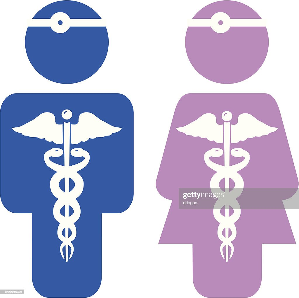 Male Vs Female Doctor Which Do You Prefer Vector Art Getty Images