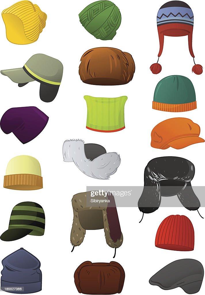Male winter hats