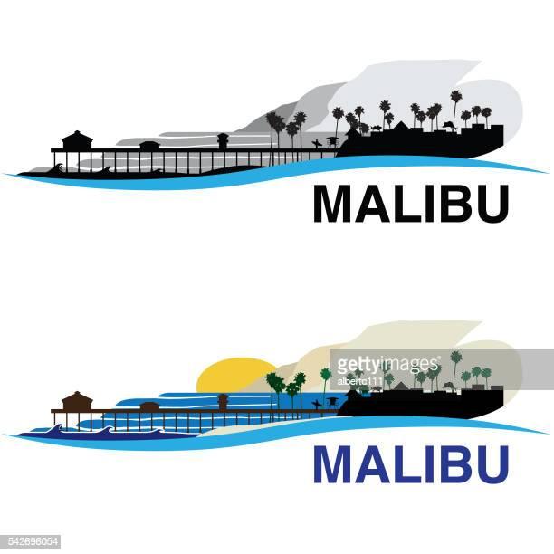 Malibu California Cityscape