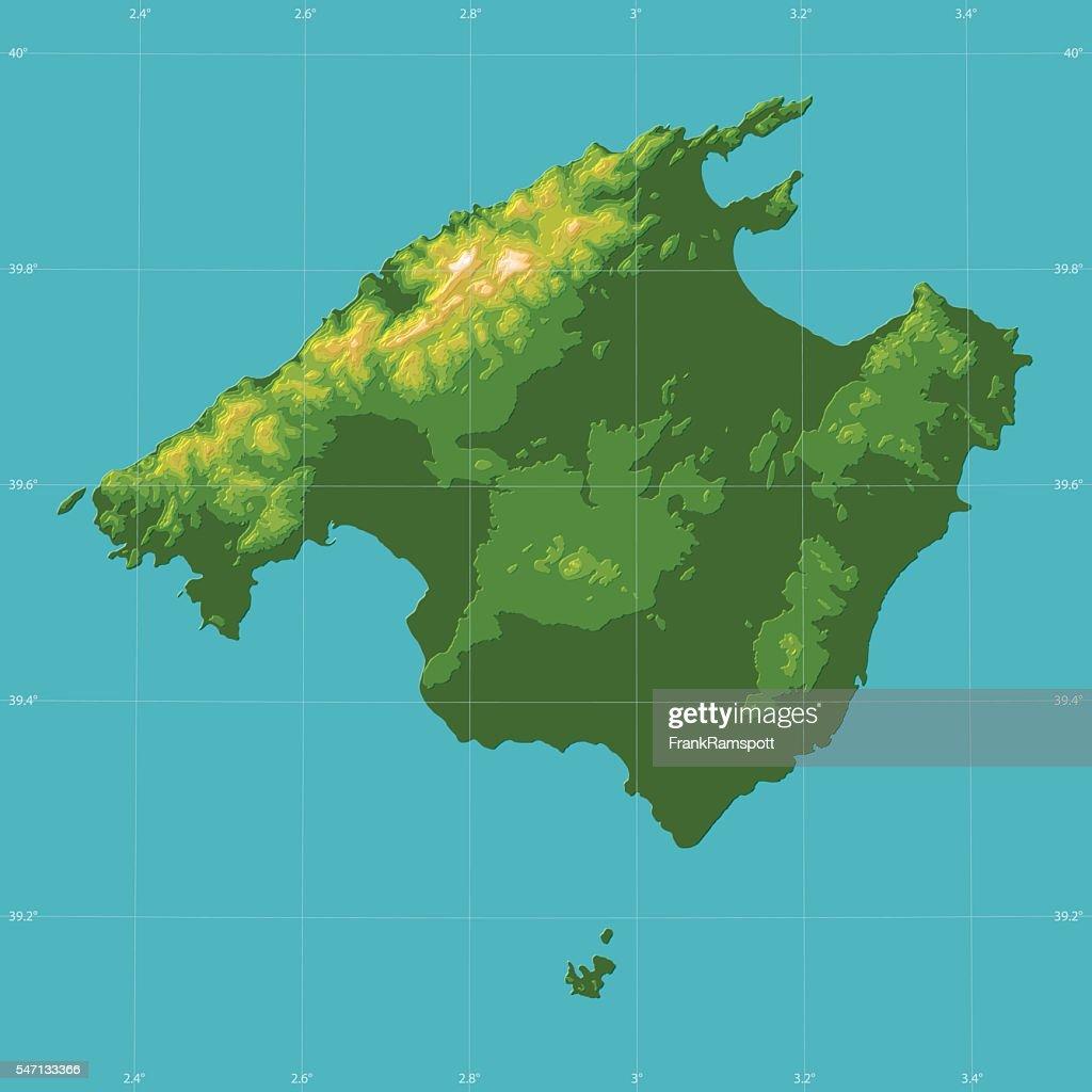 Mallorca topographic relief vector map vector art getty images mallorca topographic relief vector map vector art gumiabroncs Choice Image