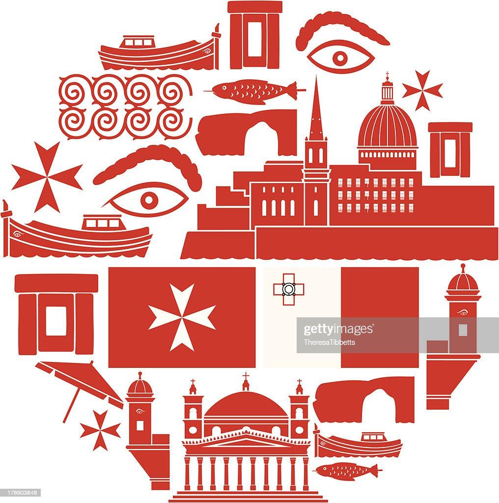 Malta Icon Set