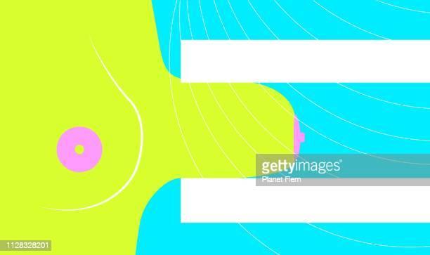 マンモグラフィ - マモグラフィー点のイラスト素材/クリップアート素材/マンガ素材/アイコン素材