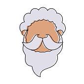 man avatar head icon image