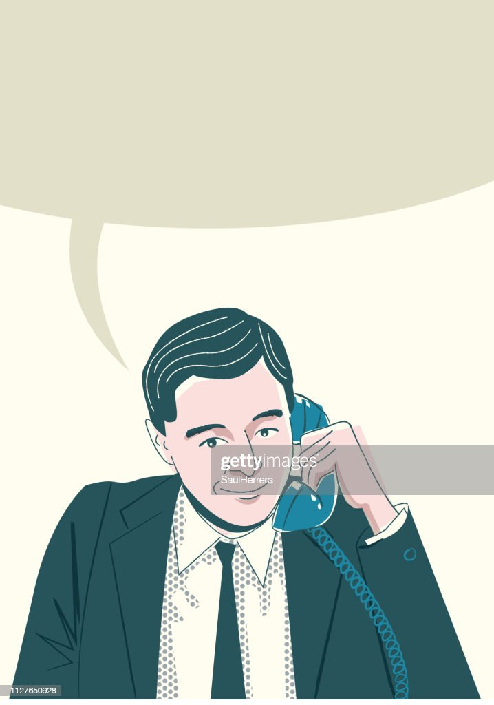 Man Calling for Cell Phone