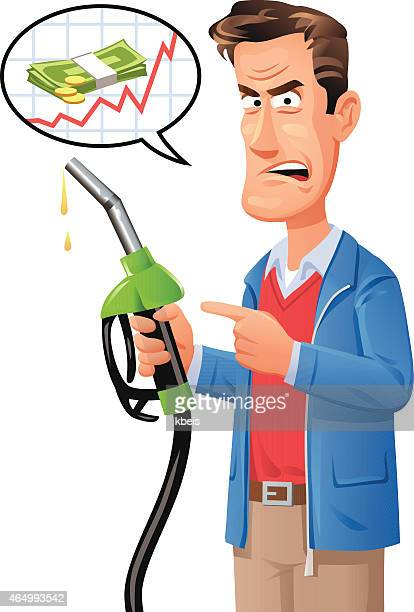 Man Complaining About Gas Prices