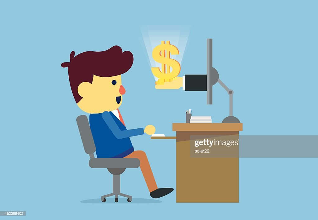 Man get money with online business