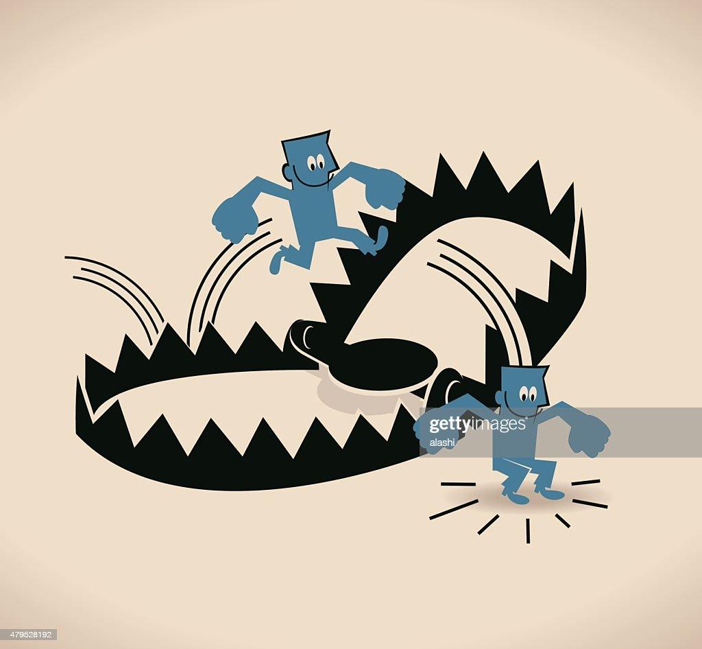 Image result for a big trap cartoon
