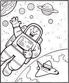 Man Spacewalk