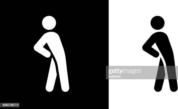Man Stretching Yoga Exercise Icon