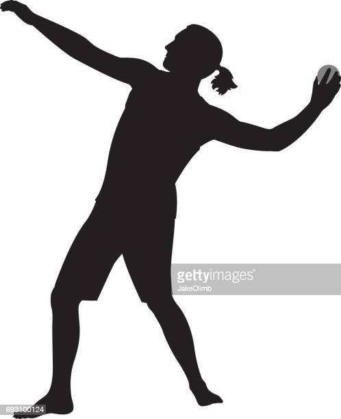 Handball Clipart - girl-with-handball-preparing-to-throw-ball-clipart -  Classroom Clipart