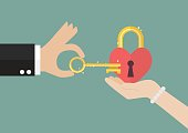 Man try to unlock woman's heart