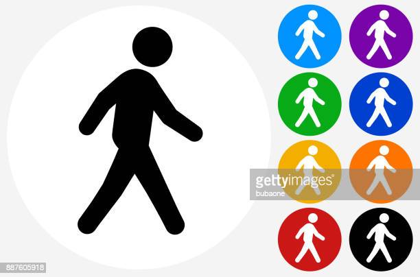 man walking. - pedestrian stock illustrations, clip art, cartoons, & icons