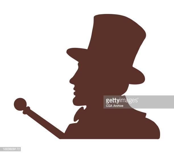 Man wearing Top Hat