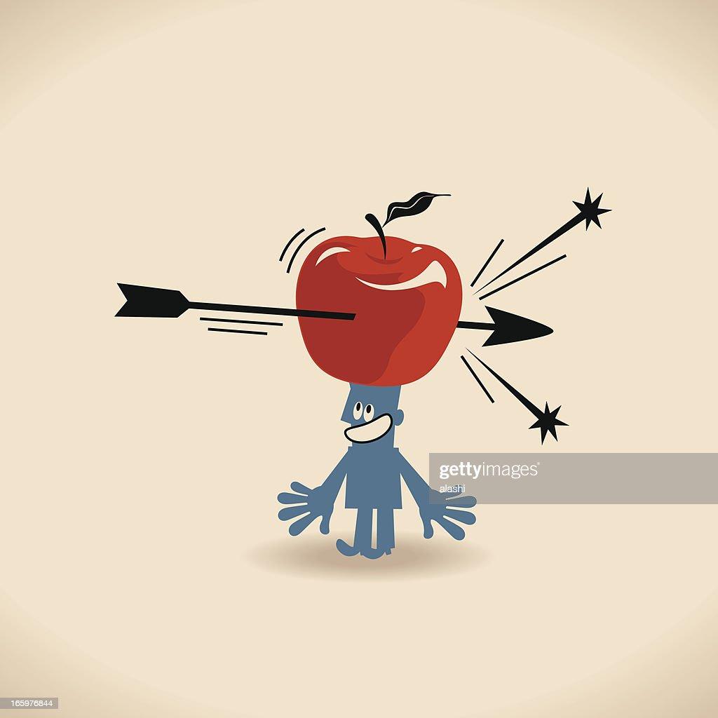 Man with an Apple and Arrow