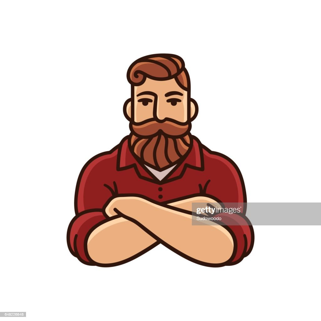 Man with beard and mustache