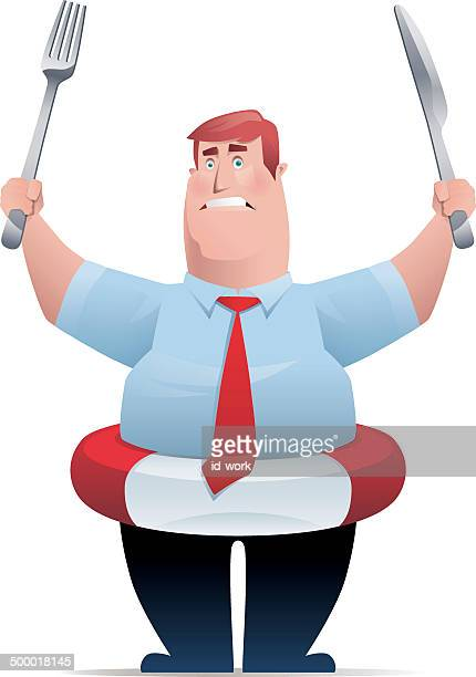 man with buoy - agression stock illustrations, clip art, cartoons, & icons