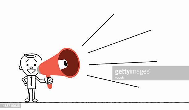 Loud Mouth Cartoon